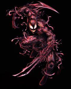 Carnage is © Marvel Marvel Venom, Marvel Villains, Marvel Comics Art, Marvel Dc Comics, Marvel Heroes, Venom Comics, Marvel Comic Character, Marvel Characters, Symbiotes Marvel