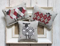 Scottish sheep lavender bags