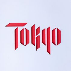 Tokyo by @douggraphics Calligraphy Letters, Typography Letters, Caligraphy, Lettering Design, Hand Lettering, Logo Design, Graphic Design, Web 1, Ledoux