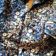 #flowers #liberty #shirt #inside