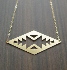 Tribal Queen Gold Necklace