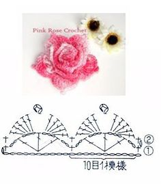 I'm glad to have found this unique crochet slippers that you can make even as a gift to your friends, relatives and loved ones. Crochet Puff Flower, Crochet Flower Tutorial, Crochet Leaves, Crochet Flower Patterns, Crochet Flowers, Crochet Ideas, Crochet Doily Diagram, Crochet Motif, Crochet Doilies