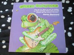 Check out what I found. Green BullFrog Natural Magic  ECY STREET ECY16 UK Vinyl LP Album Ritchie Blackmore, Ian Paice, Big Jim Sullivan,Roger Glover