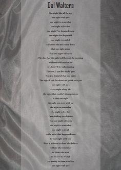 #poems #dalwalters #romanticpoems #poetry #creativewriting