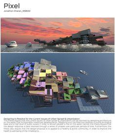 MSD M.Arch S2/16 - Jonathan Charan. Studio Thesis 08 - Waterscraper. Tutor: Toby Reed.