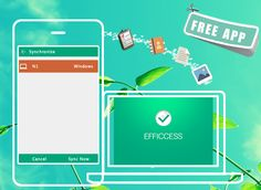 Efficcess Mobile, A FREE APP, helps you manage contact, task, schedule, note, diary and password on the go so that you can enjoy a well-organized life and never miss any brilliant ideas at all. Besides, you can sync data across PCs and mobile phones just in 4 steps!