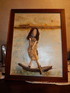 """Un omaggio alla """"donna del fiume"""""""