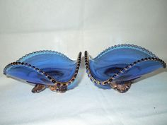 Cobalt Blue with Gold Trim Victorian Nappys by TheShastaLakeShop, $35.00