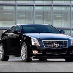 Cadillac CTS Coupe- and I will have it in black, like this :) mhmm