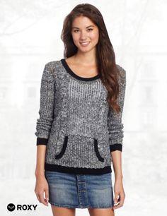 Roxy Juniors Sunset Getaway Sweater