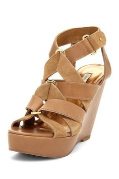 Cynthia Vincent Lila Wedge Sandal by Non Specific on @HauteLook