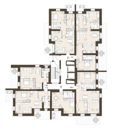 Immagine – Architecture is art Social Housing Architecture, Concept Architecture, Residential Architecture, Architecture Definition, Landscape Architecture, Residential Building Plan, Building Plans, Mix Use Building, Building Design