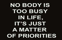 busy in life