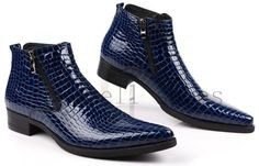 Large size ᗗ blue Serpentine genuine leather motorcycle boots ① Mens ankle boots Pointed Toe Buckle mens dress shoes wholesale Large size blue Serpentine genuine leather motorcycle boots Mens ankle boots Pointed Toe Buckle mens dress shoes wholesale Leather Motorcycle Boots, Mens Ankle Boots, Leather Boots, Mens Boots Fashion, Fashion Shoes, Dress Fashion, Men's Accessories, Gentleman Shoes, Stylish Boots
