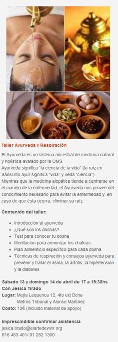 Taller sobre Ayurveda y remedios naturales