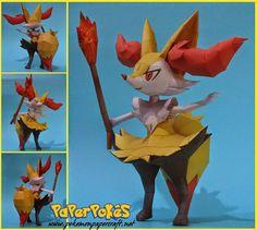 Braixen Pokemon Fire Types