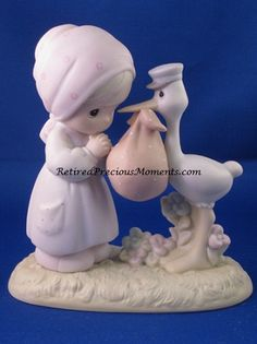 $62.50 Joy On Arrival - Precious Moment Figurine