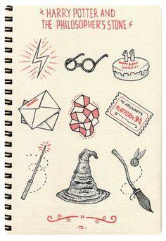 Harry Potter Et Les Doodles Letterings Zentangles Et Autres