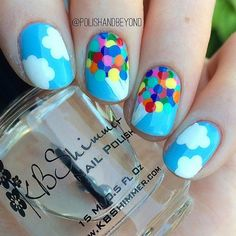 These Disney Nail Art Ideas Will Inspire Your Next Magical Manicure #Manicures