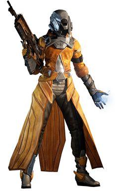 Warlock, Level 14 - Characters & Art - Destiny