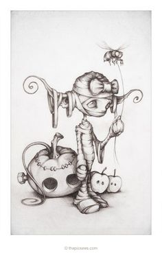 Fantasy and Gothic Art:  Tricky Treats! by thePicSees.deviantart.com on @deviantART