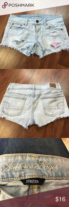 American eagle jean shorts sz 00 American eagle jean shorts sz 00 American Eagle Outfitters Shorts Jean Shorts