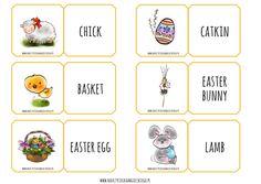 Wielkanocne materiały do wydruku – Nauczycielka Angielskiego