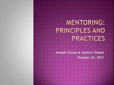 Joseph Oonyu & Justine Otaala October requires a trusting, supporting and confidential relationship based on mutual respect