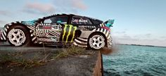 """In car communities, Ken Block is a name known for his crazy """"Gymkhana"""" stunt driving videos. His latest video brought the driving sensation to Buffalo."""