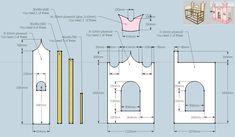 A bed that looks like a castle - IKEA Hackers Kura Ikea, Kura Bed Hack, Princess Castle Bed, Princess Room, Princess Beds, Elsa Castle, Diy Toddler Bed, Kids Castle, Ikea Hackers