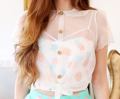 Cielo Blouse from Marzia Bisognin - WANT SO MUCH