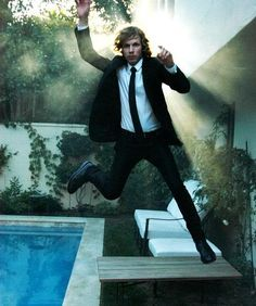 beckdoingthings:  Beck falls down from the High Heavens because he is actually Lucifer picture submitted by darkheartdreamer