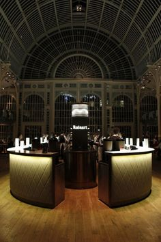 WAN INTERIORS Interiors, The Paul Hamlyn Hall Champagne Bar - Royal Opera House, London, UK