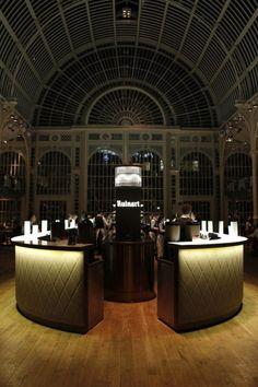 WAN INTERIORS Interiors, The Paul Hamlyn Hall Champagne Bar - Royal Opera House, London, UK