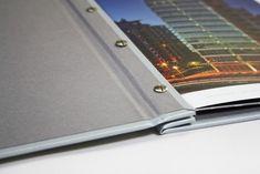 Hidden post screw binders - Platinum