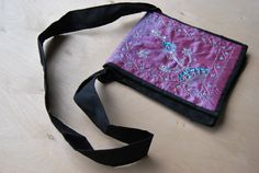 Hand Embroidered Purse by SewNotSari on Etsy, $35.00