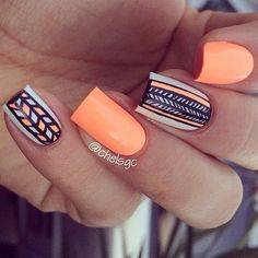 ~Amazing tribal nails~