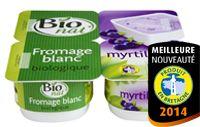 Fromage blanc bio myrtilles Bio nat'