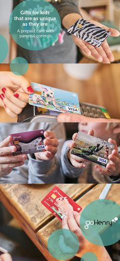 goHenry's new custom cards have finally arrived! Your child's goHenry card is connected to their very own account, which comes complete with parental controls. So you can control their earning, saving and spending by logging in online and through our mobile app. goHenry empowers children to learn about money and gives parents the tools they need to stay in control.