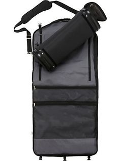Luggage & Bags - SkyRoll Black Roll-Up Garment Bag - Men's Wearhouse