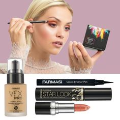 Are you interested in getting Free Makeup? Signup for this easy one page email submit and get High quality Free Makeup Samples. Beauty Makeup, Eye Makeup, Farmasi Cosmetics, Get Free Makeup, Makeup Samples, Mascara Wands, Make Up Videos, Under Eye Concealer, Eyeliner Pen