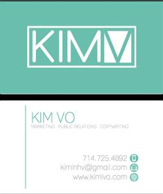 Brennan quinn used simple design and a fun theme to create this check out this awesome design for a business card by kim vo colourmoves