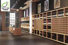 Wine, wine tasting room, restaurante bar, wine and spirits, store interiors Wine And Liquor, Liquor Store, Cave A Vin Design, Bar A Vin, Wine Tasting Room, Wine Storage, Design Furniture, Visual Merchandising, Retail Design
