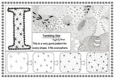 Twinkling Star by Judy's Creative Doodling, via Flickr
