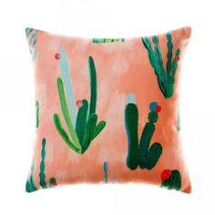 awesome Mercer + Reid Watercolour Cactus  - Peach