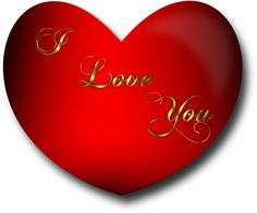 """Vector image of a red glossy Valentine heart with the words, """"I Love You"""" written across. True Love Images, Romantic Love Images, I Love You Pictures, Flower Pictures, Secret Love Messages, Love Messages For Husband, I Love You So Much Quotes, Always Love You, Good Night For Him"""