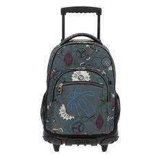 Mochila Escolar con Ruedas, Mochila Grande Infantil. Color Verde. Estampado Bicicleta - Mochila Totto: Amazon.es: Equipaje Backpacks, Bags, Adidas, Fashion, Bike, Baggage, Colors, Simple Lines, Handbags