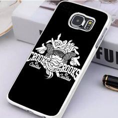 Crooks And Castles Logo Samsung Galaxy S7 Edge Case Dewantary