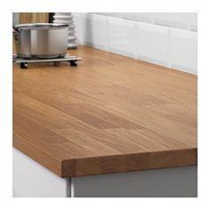 IKEA - HAMMARP, Työtaso, 186x2.8 cm, , 25 vuoden takuu. Lisätietoja ja takuuehdot takuuvihkosessa.Tammi on erittäin kova puulaji, mikä tekee siitä suositun työtaso- ja sisustusmateriaalin. Värisävyltään tammi voi vaihdella vaaleanruskeasta syvän punaruskeaan, ja sävy tummuu ajan mittaan.Massiivipuu on luonnonmateriaali, jossa on erityinen tuntu. Puun koko ja ikä vaikuttavat siihen, millainen työtason pinnasta tulee väriltään, tekstuuriltaan ja ulkonäköltään. Tämän ansiosta jokainen työtaso…