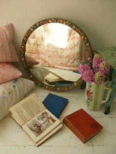 Antique French mirror from Lavender House Vintage #home#interiors ...